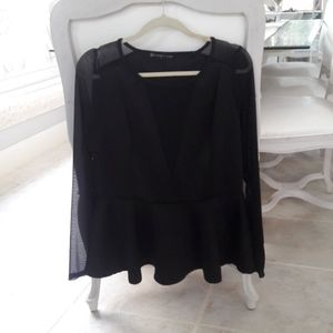 Fashion to Figure peplum blouse